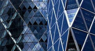 Paisagens arquitetônicas contemporâneas