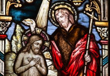 BATISMO DE JESUS: