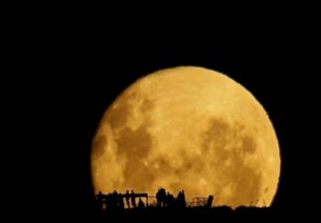 A Lua Cheia Nascendo...
